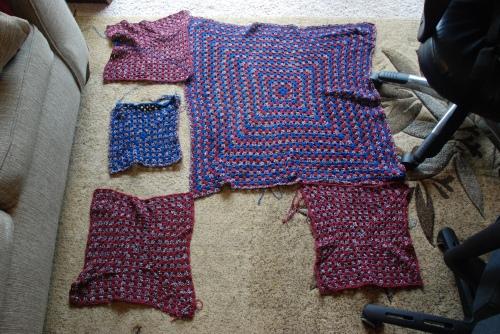 Blanket layout